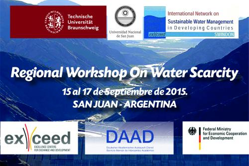 "Invitan a participar del ""Workshop on Water Scarcity"""